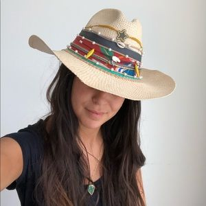 NWT Khaza sombrero hand made straw hat